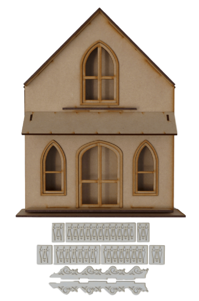 Martha's Cottage (Shadow Box)